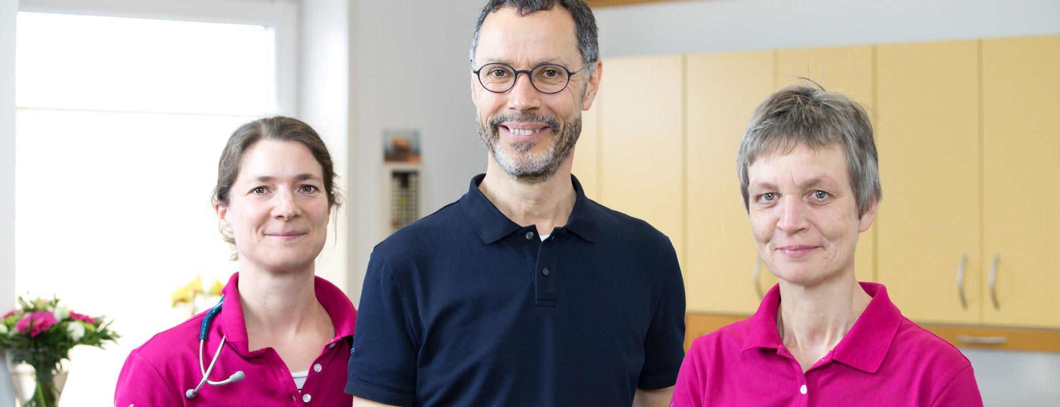 Dr. Dorothee Stückemann, Dr. Gerd Hüttenbrink und Elke Lügering